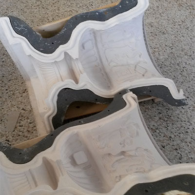 Stylmodel modellazzione manuale e 3d modelli stampi per ceramica resina cera cemento